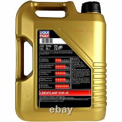 10l Inspection Set Liqui Moly Good Operation 10w-40 + Sct Filters 11231895