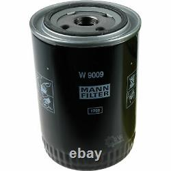 10l Mannol 5w-30 Break LL - Mann-filter Fiat Ducato Box 250 140 Natural Power