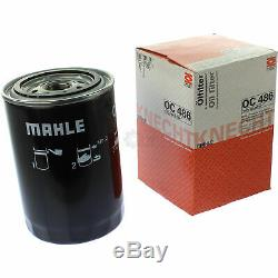 10x Original Mahle / Knecht Filter Oc 486 + 10x Sct Engine Flush Flushing
