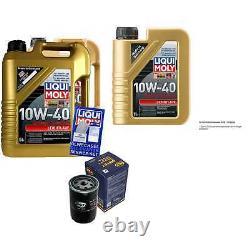 11l Inspection Set Liqui Moly Good Operation 10w-40 + Sct Filters 11232101
