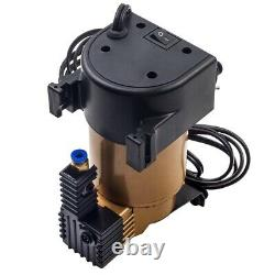 2x Inflatable Suspension Kit - 12v Compressor For Iveco Daily Fiat Ducato Vw