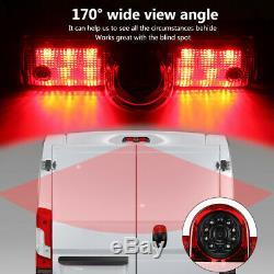 7 '' Led Monitor Back Up Camera Kit Peugeot Boxer Citroen Relay Fiat Ducato