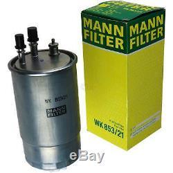 7l Liqui Moly 5w-30 Motor Oil + Filter Mann-filter Filter Fiat Ducato Bus 250