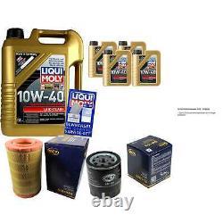9l Inspection Set Liqui Moly Good Operation 10w-40 + Sct Filters 11231555