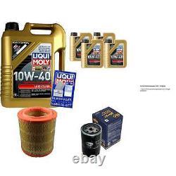 9l Inspection Set Liqui Moly Good Operation 10w-40 + Sct Filters 11231685
