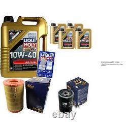 9l Inspection Set Liqui Moly Good Operation 10w-40 + Sct Filters 11231689
