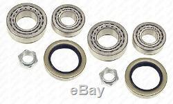 Bearing Kit For Rear Wheel LI & D For Peugeot Citroen C25, J5 Payload