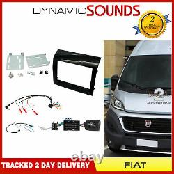 Ctkft14 Double Din Carenage/direction/antenna Kit Adapter Fiat Ducato 2015