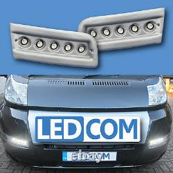 Daytime Fires Led Day Fires Pod Kit Fiat Ducato Camping-car Silver