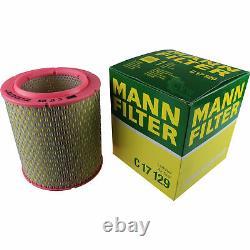 Engine Oil 6l Mannol Defender 10w-40 + Mann-filter Fiat Ducato Bus 230 1.9 D