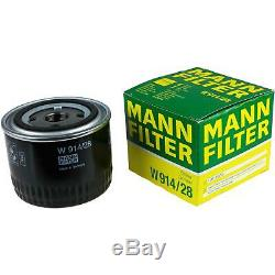 Engine Oil 7l Mannol Defender 10w-40 + Mann Box Fiat Ducato 2.3 244