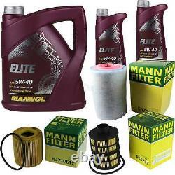 Engine Oil 7l Mannol Elite 5w-40+ Mann-filter Fiat Ducato Bus 250 100 Multijet