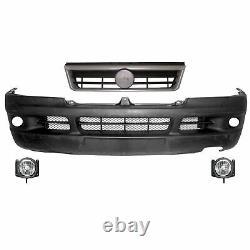 Grey Bumper Kit - Fog - Fab Year Grid. 02-06 Fiat / Boxer / Pull