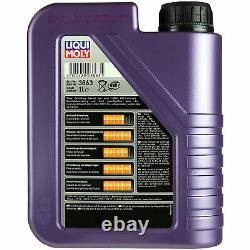 Inspection Kit Filter Liqui Moly Oil 7l 5w-40 For Fiat Ducato