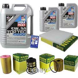Inspection Sketch Air Mass Filter Liqui Moly Oil 7l 5w-30 For Fiat