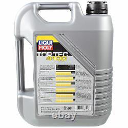 Inspection Sketch Filter Liqui Moly Öl 6l 5w-40 For Fiat Ducato