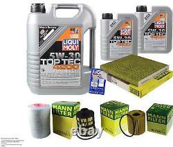 Inspection Sketch Filter Liqui Moly Öl 7l 5w-30 For Fiat Ducato