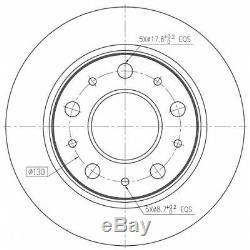 Kit Brake Discs Back To Pd154q 230,237,200 1,421,414 F2015p Bdm738510