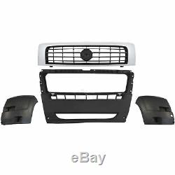 Kit Bumper Front Grille 3 Rooms Ducato Boxer Cavalier Year Mfr. 06-14