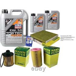 Kit Filtre Of Inspection Huile Liqui Moly 7l 5w-30 For Fiat Ducato Bus 250
