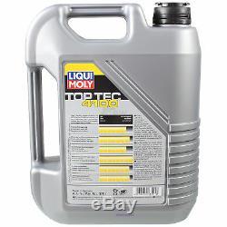 Liqui Moly 10l 5w-40 Oil + Mann-filter For Ducato Box 250 140 Natural