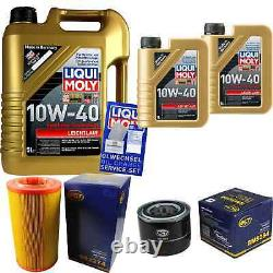 Liqui Moly 7 L 10w-40 Engine Oil + Sct-filter Fiat Ducato Choose/chassis 250