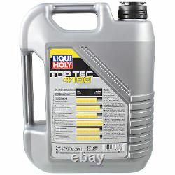 Liqui Moly 8l Toptec 4100 5w-40 Engine Oil - Mann-filter For Fiat Ducato Bus