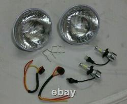 Lucas Driving Left Lighthouse Hid Led Conversion Kit Land Rover Series 1 2 2a 3
