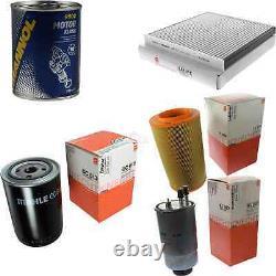 Mahle / Knecht Inspection Set Sct Filter Set Engine Wash 11615844