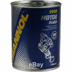 Mahle / Knecht Set On Inspection Filters Set Tbs Engine Wash 11612685