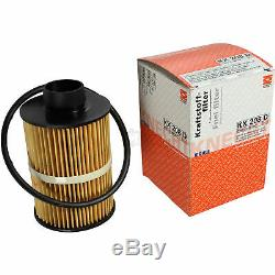 Mahle LX 3353 Air Filter For Fuel Kx 208d Inside The 411 To 613 Oil Oc