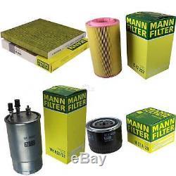 Mann-filter Box Set Fiat Ducato Multijet 250 290 130 23 D 250 110 150