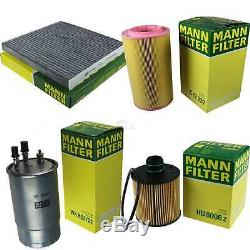 Mann-filter Inspection Set Fiat Ducato Bus 250 290 115 20 D Multijet