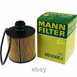 Mann-filter Inspection Set Fiat Ducato Bus 250 290 115 Multijet 20 D