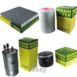 Mann-filter Inspection Set Kit Fiat Ducato Choose / Chassis 250 290