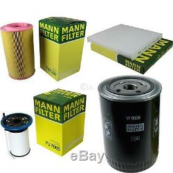 Mann-filter Inspection Set Kit Fiat Ducato Select / Chassis
