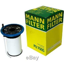 Mann-filter Inspection Set Kit Fiat Ducato Select / Chassis 250