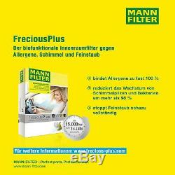 Mann-filter Inspection Set Kit Fiat Ducato Select / Chassis 250 290