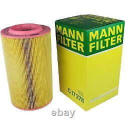 Mann-filter Set Fiat Ducato Box 244 2.0 Jtd Choose / Chassis Z