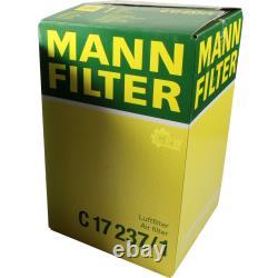Mannol 7l Extreme 5w-40 Engine Oil + Mann Filter Luft Fiat Ucato Bus 250 100
