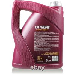 Mannol 7l Extreme 5w-40 Engine Oil + Mann-filter Fiat Ucato Bus From 250 100