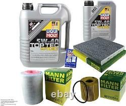 Moly 6l 5w-40 Oil Liquid Inspection Kit Filter For Fiat Ducato