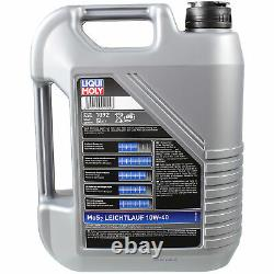 Moly 7l 10w-40 Oil Liquid Inspection Kit Filter For Fiat Ducato