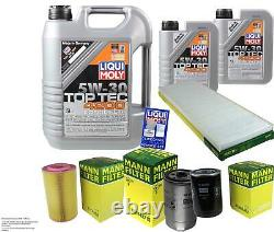 Moly 7l 5w-30 Oil Liquid Inspection Kit Filter For Fiat Ducato
