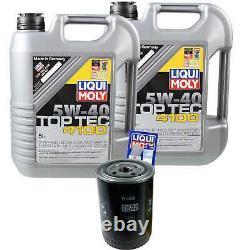 Review Filter Liqui Moly Oil 5w-40 10l Fiat Ducato Bus 250
