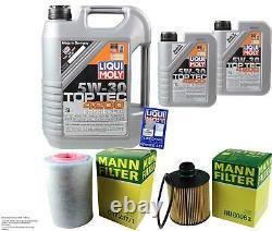 Revision D'filter Liqui Moly Oil 7l 5w-30 For Fiat Ducato Bus 250 290