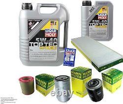 Revision Filter Liqui Moly Oil 6l 5w-40 For Fiat Ducato Box 230l 2.5 D