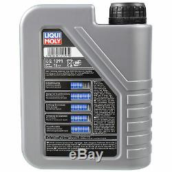 Revision Liqui Moly Oil Filter 6l 10w-40 Fiat Ducato Bus 230 1.9 Td Tubes