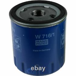 Sketch Inspection Filter Liqui Moly Oil 5l 5w-30 For Fiat Ducato Bus 244