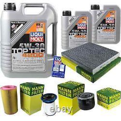 Sketch Inspection Filter Liqui Moly Oil 7l 5w-30 For Fiat Ducato